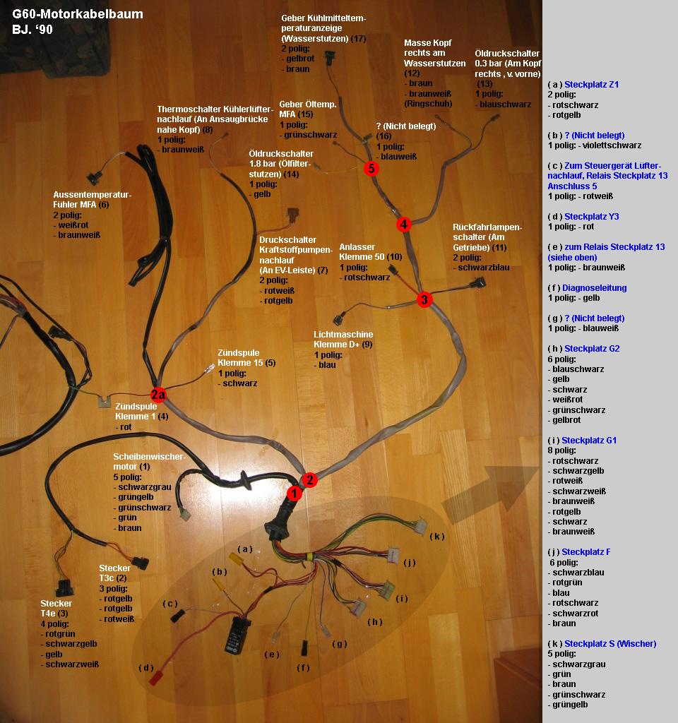 Brauche Anschlußplan für Motorkabelbaum G60 - Corrado Forum